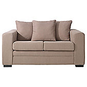 Amy Small Fabric Sofa Camel
