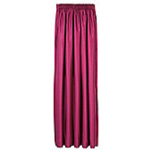 Tesco Faux Silk Lined Pencil Pleat Curtains - Fuchsia