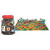 Wild Republic Large Multi Dino Bucket Set