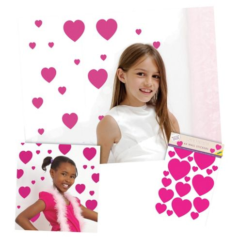 FunToSee Love Hearts Wall Stickers
