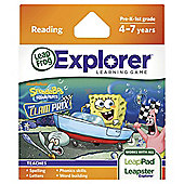 Leapfrog Leapsterleappad Explorer Spongebob Kart Racing Game