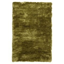 Tesco Rugs Luxurious shaggy rug green 120x170cm