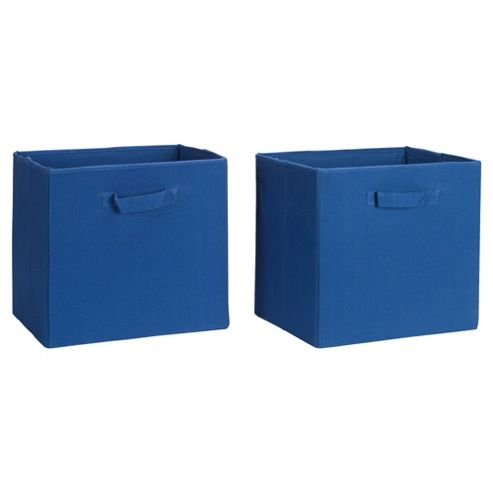 Seattle Kids Canvas Drawer Set 2 Blue