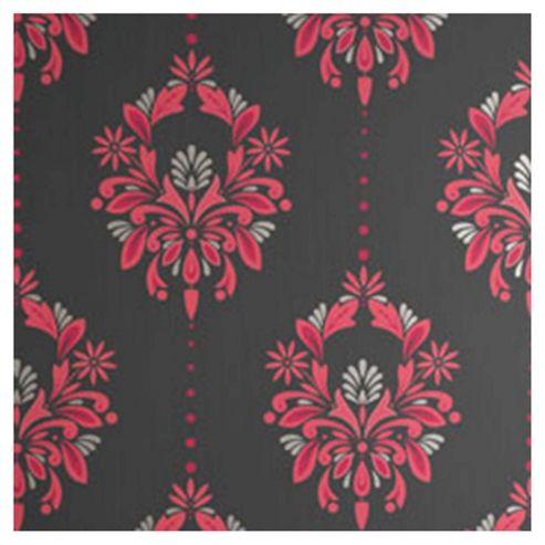 buy dulux antoinette wallpaper fuschia from our wallpaper