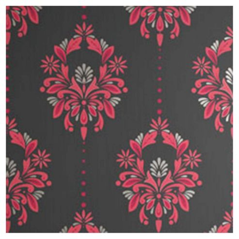 Dulux Antoinette Wallpaper, Fuschia