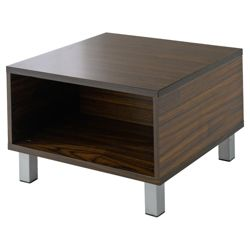Tribeca Side Table, Walnut-Effect