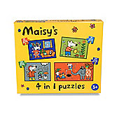 Maisy 4 In 1 Puzzle