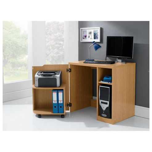 Buy seattle hideaway desk from our office desks tables range - Tesco office desk ...