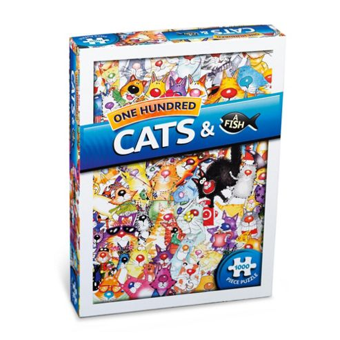 One Hundred Cats & A Fish 1000 piece puzzle