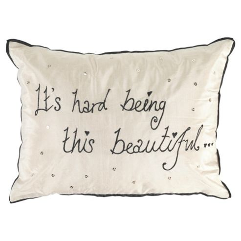 Worded Beautiful Cushion