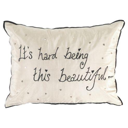 Worded Beautiful Cushion