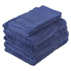 Tesco Towel Bale Navy