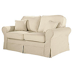 Buy Louisa Loose Cover Only For Sofa Bed Jaquard Cream From Our Beds Range Tescocom
