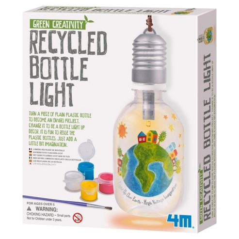 Green Creativity Recycled Bottle Light