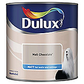Dulux Matt Emulsion Paint, Malt Chocolate, 2.5L
