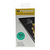 Wrapsol Ultra Protective Film Wrap for Nokia C7
