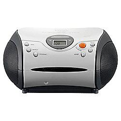 Lenco SCD-24 CD Radio Boombox - White