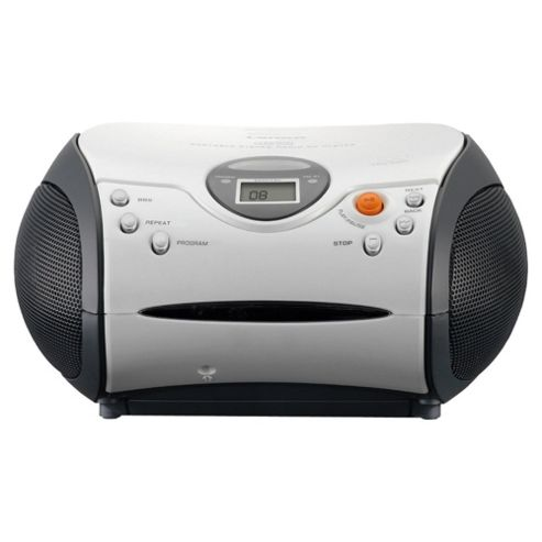 Lenco SCD-24 CD Radio Boombox - White