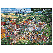 Games I Love The Farmyard 1000 Pieces Jigsaw Puzzle