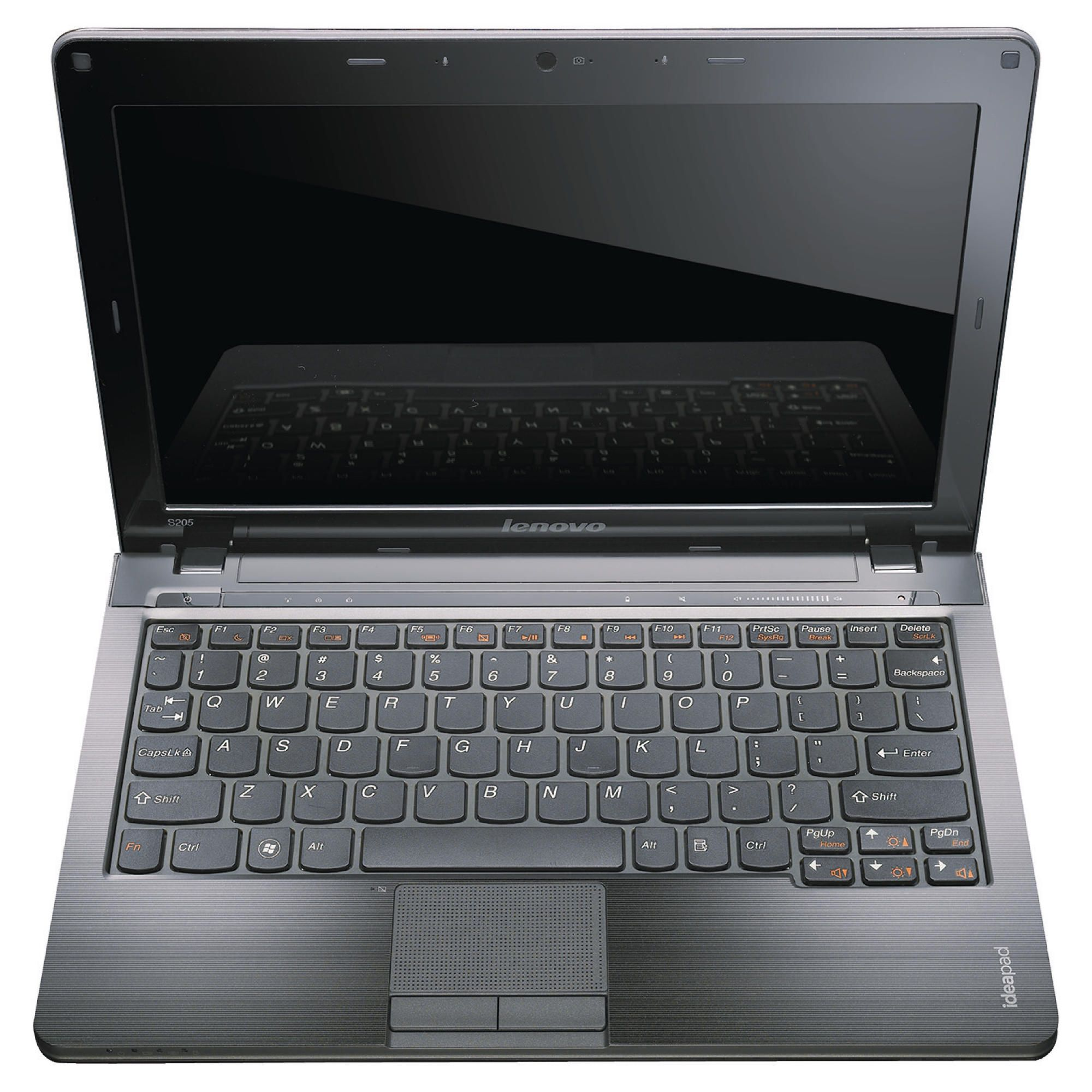 Lenovo S205 Netbook (AMD E350, 4GB, 500GB, 11.6'' Display) Black at Tesco Direct