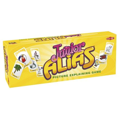 Junior Alias Board game