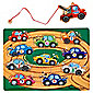 Melissa & Doug Wooden Tow Truck Magnetic Puzzle Game