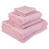 Tesco Towel Bale Pink