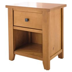 Suffolk Bedside Chest, Pine