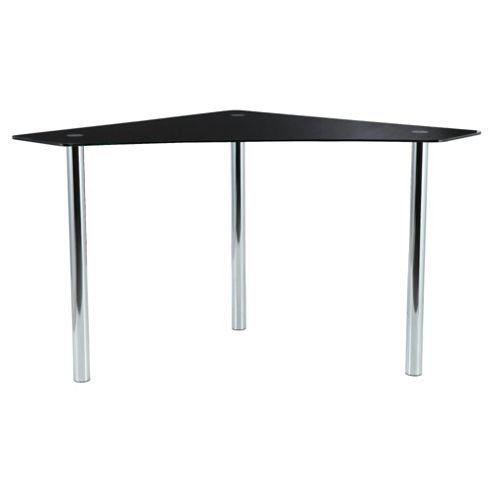 Jupiter Corner Desk, Black