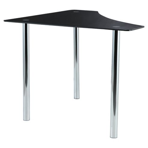 Buy jupiter corner desk black from our office desks tables range - Tesco office desk ...