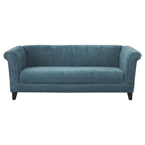 Millie Large Fabric Sofa Teal