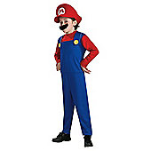 Super Mario Fancy Dress Costume 9-12 years