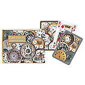 Gibsons Time Pieces Playing Cards