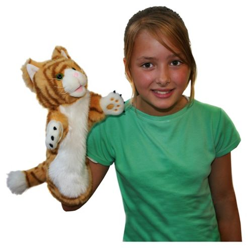The Puppet Company Cat Ginger Puppet
