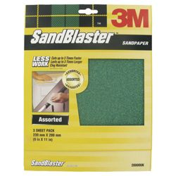 Sandblaster Assorted Sheet Pack
