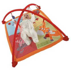 Mamas & Papas Fun On The Farm Baby Playmat & Gym
