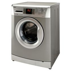 Beko WMB71642S Washing Machine, 7kg Wash Load, 1600 RPM Spin, A++ Energy Rating. Silver