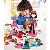 Melissa & Doug Abby & Emma Mag Dress-Up