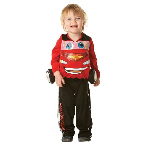 Lightning McQueen Padded Character Costume Toddler