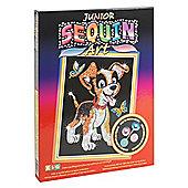 Junior Sequin Art Puppy