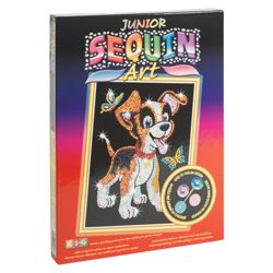 KSG Crafts Junior Sequin Art Puppy