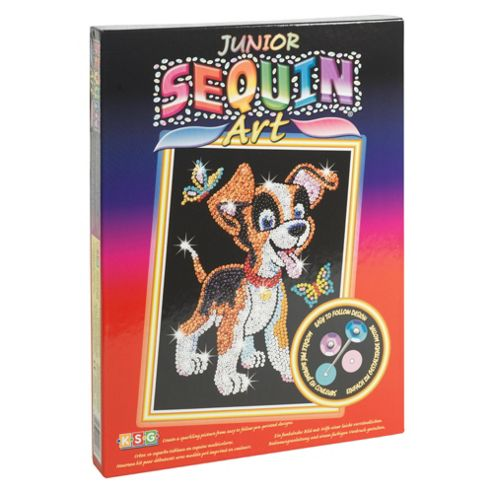 Junior Sequin Art Puppy