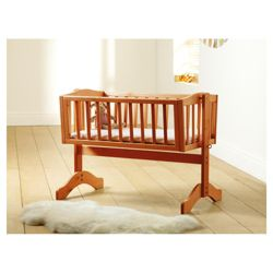 Saplings Bethany Crib + Foam Mattress, Antique