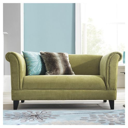 Millie Small Fabric Sofa Pistachio