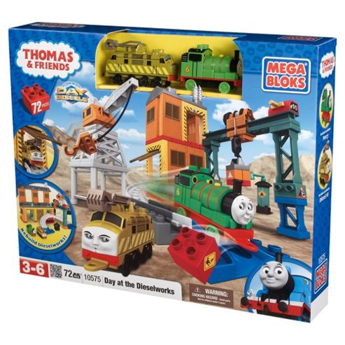 Mega Bloks Thomas Day at the Dieselworks