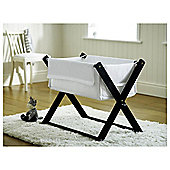 Saplings Katie Crib & Foam Mattress, Black