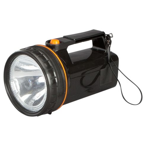 Tesco Spotlight Torch, Black