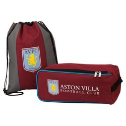 Aston Villa Boot Bag & Gym Bag