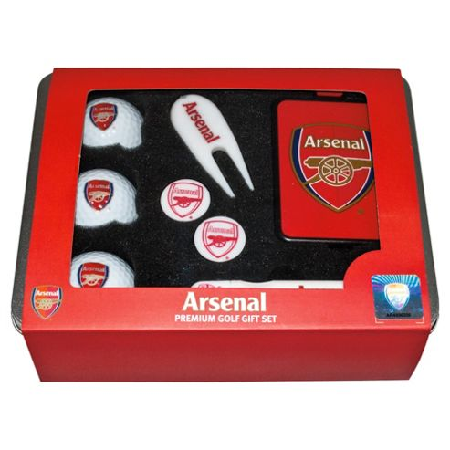 Arsenal Premium Golf Tin Set
