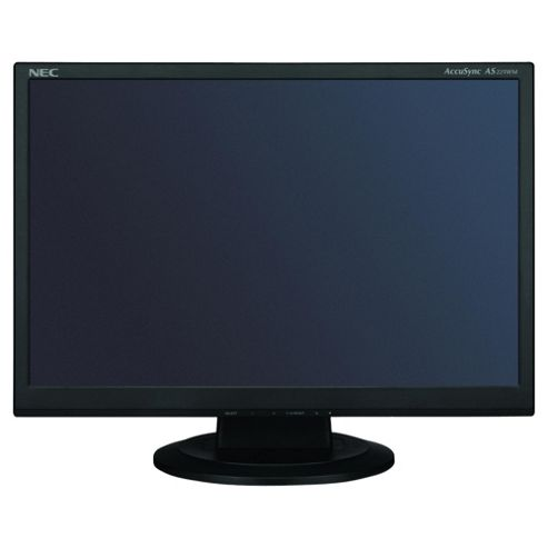 NEC AS221WM 22 inch LCD Monitor Black